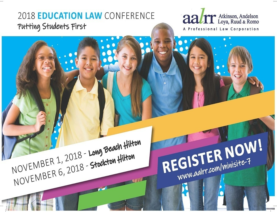 Image of 2018 Education Law Conference - Stockton