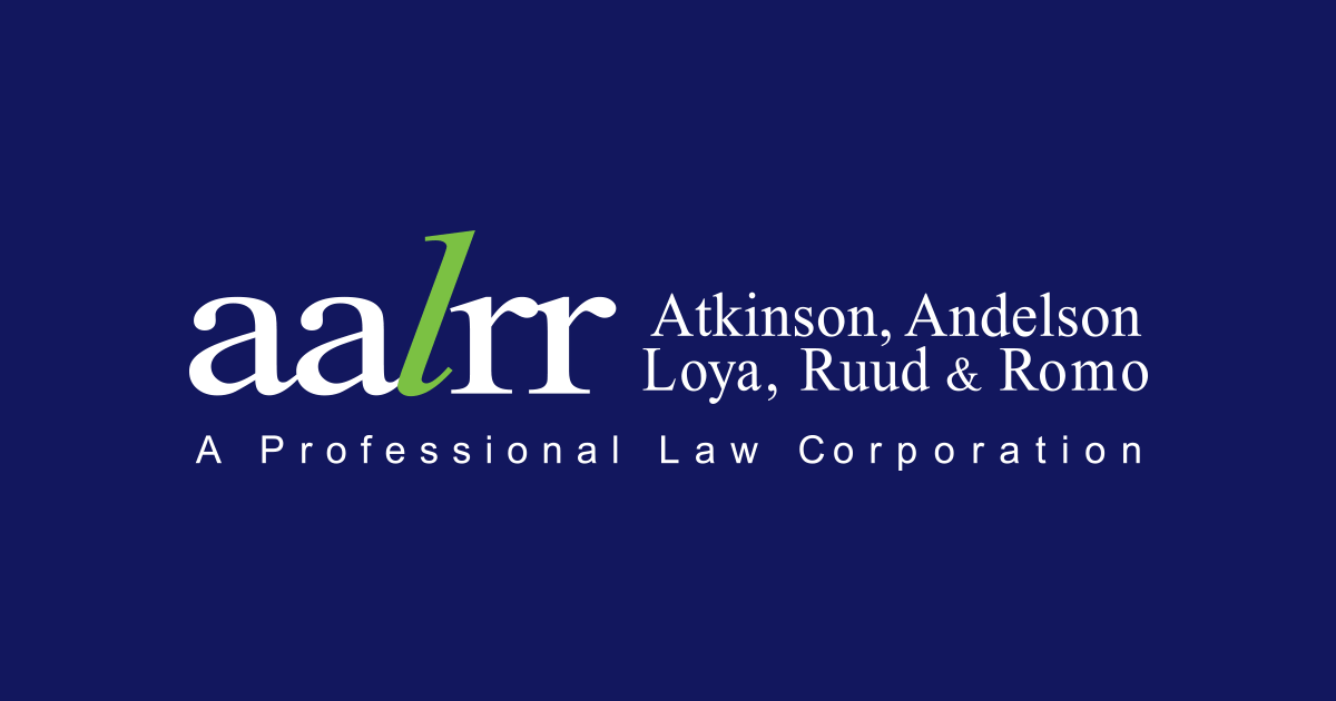 AALRR Speakers Announced for November: Atkinson, Andelson, Loya